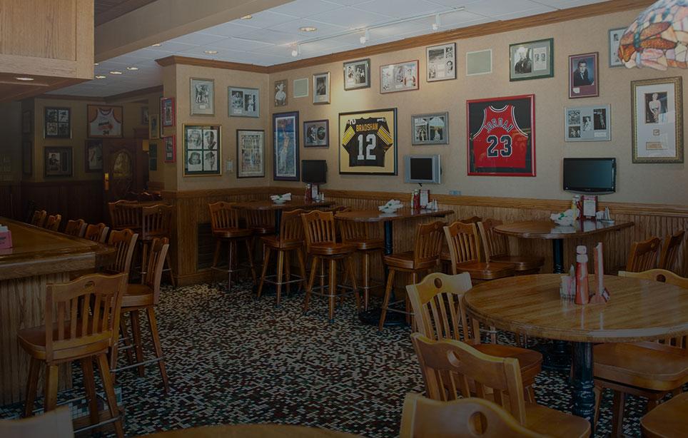 Welcome to P. J. Harrigan's, an award-winning restaurant